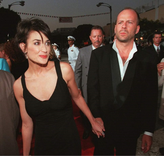 Demi Moore and Bruce Willis separation