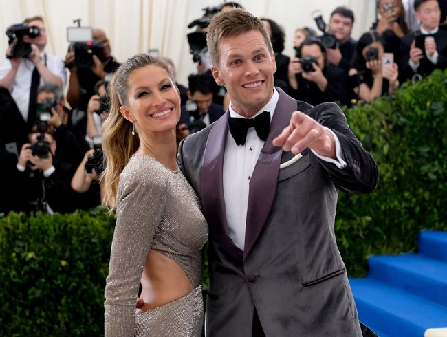GiseleBundchen and Tom Brady beautiful couple