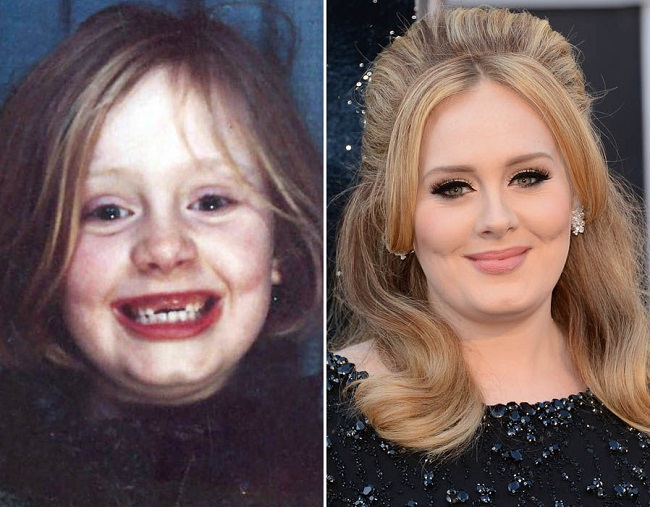 adele as kid