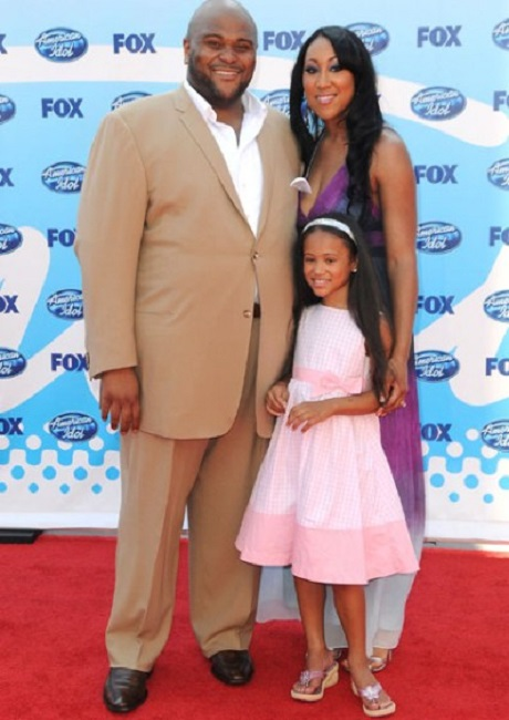 Ruben Studdard and his wife Zuri pose with Alex   Join the ...  Ruben Studdard Wife