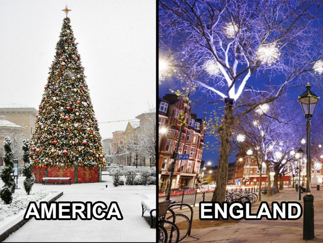 Christmas In England.15 Differences Between Christmas In The Uk And The America