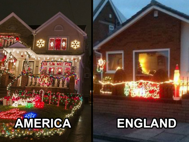 England Christmas.15 Differences Between Christmas In The Uk And The America