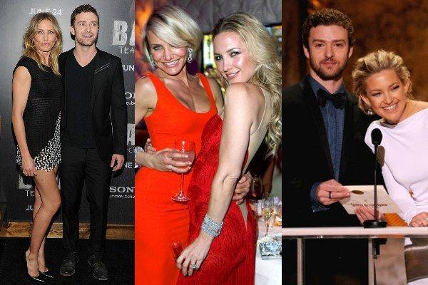 Cameron Diaz, Kate Hudson and Justin Timberlake