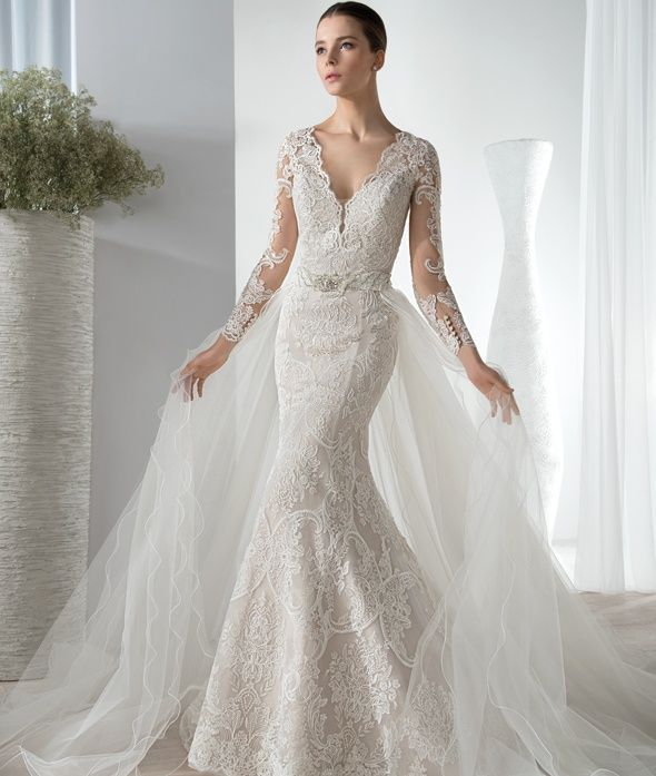 The Wedding Dress Denotes The Latent Notes Of The Lady