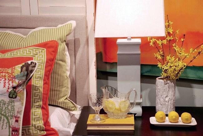 Lemons on the table