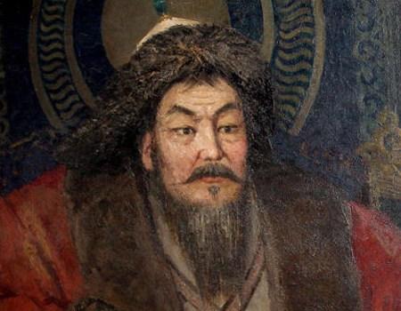 Mongol emperor Genghis Khan