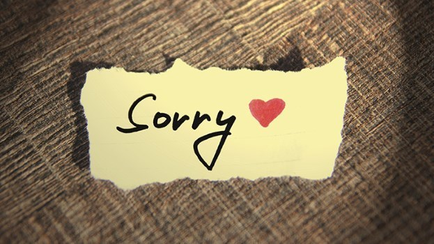 Sorry just becomes a word