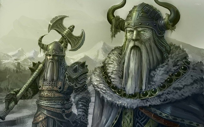 Vikings did not wear horned helmets
