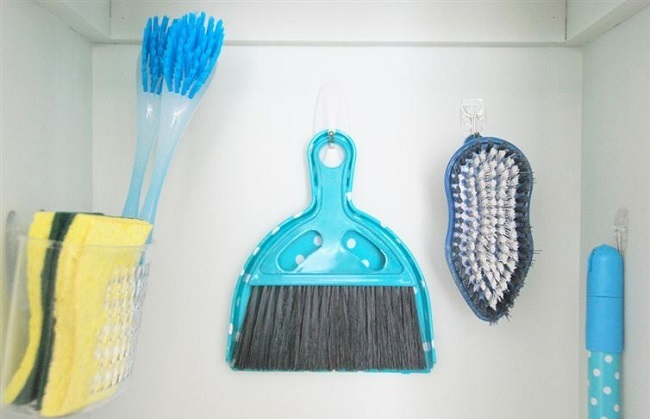 items in your cleaning closet