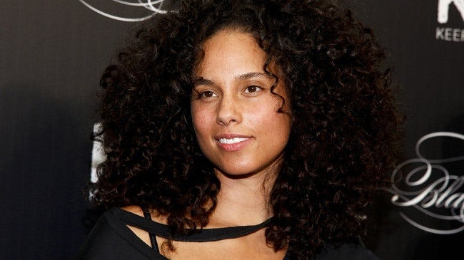 Alicia Keys can often be seen without makeup