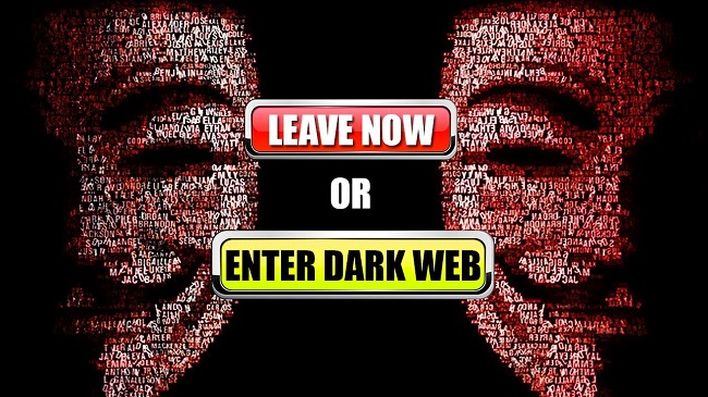 how to find something on the dark web