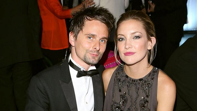 Kate used to be married to The Muse frontman Matt Bellamy