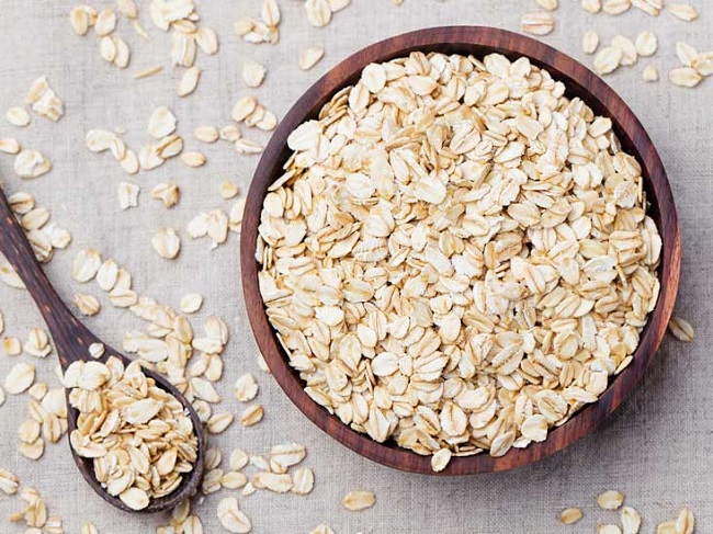 Oats are very rich in antioxidants