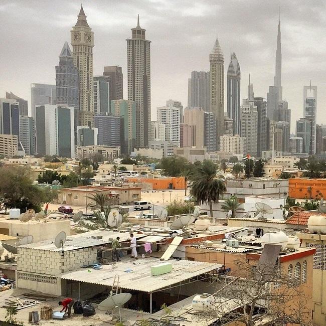 Dubai consists of skyscrapers