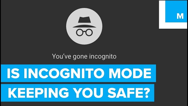 incognito mode on your browser protects your data