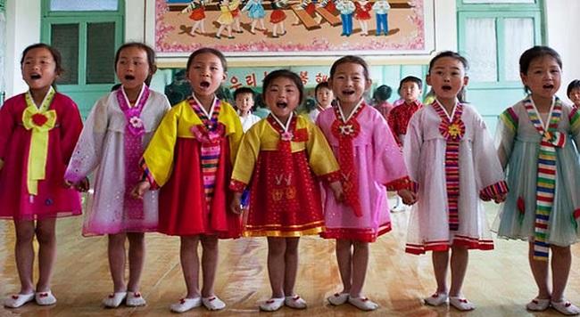 Anak-anak Korea Utara