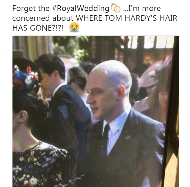 Tom Hardy Royal Wedding.19 Hilarious Memes On The Royal Wedding Will Tickle Your Funny Bones