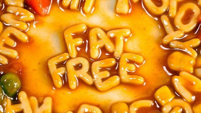 fat-free processed food