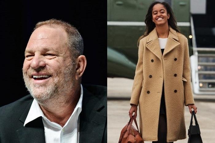 Malia internship with Harvey Weinstein