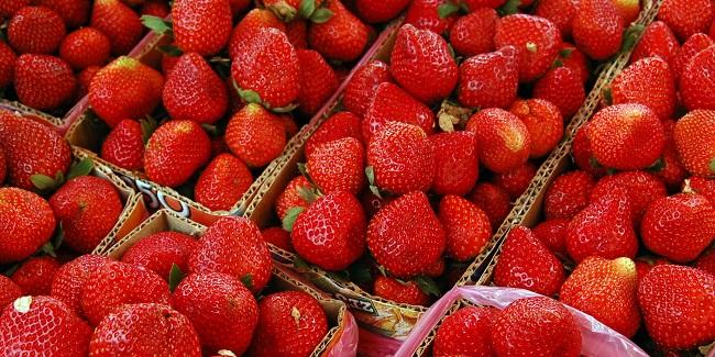 Non-organic strawberries