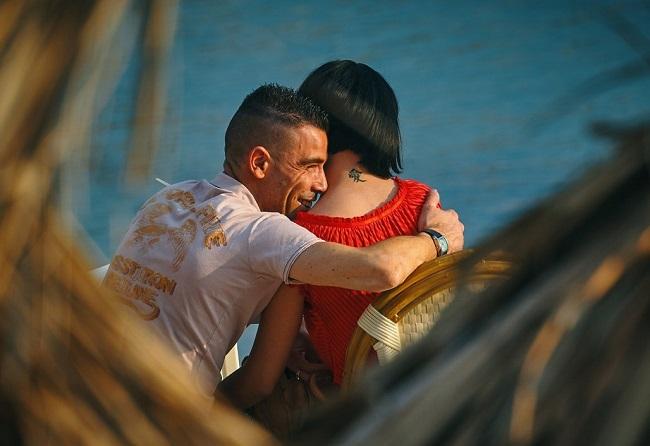 Not so romantic Pervert Hug
