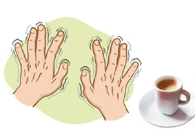 Trembling hands