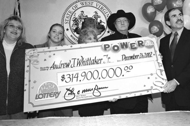 Andrew Jackson Whittaker: $314,900,000