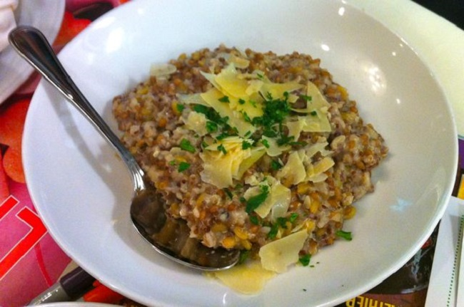 Choose whole grains when preparing meals