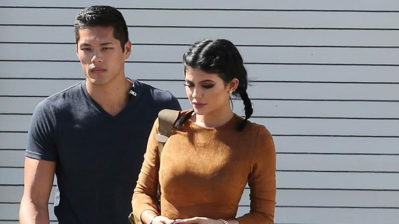 Kylie Jenner and Tim Chung