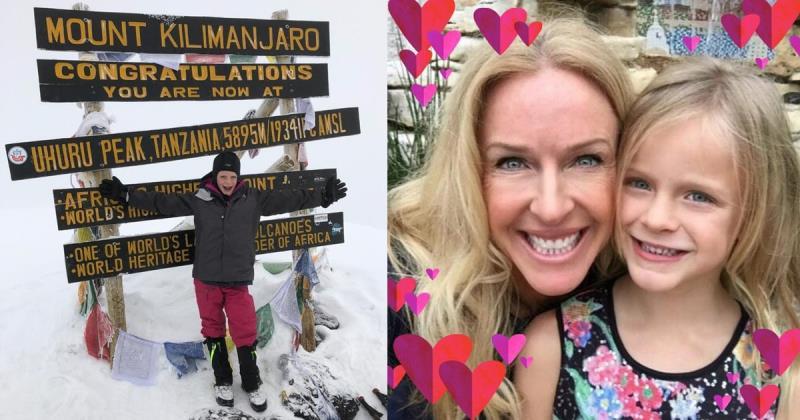 Montannah's training to climb Mountain Kilimanjaro