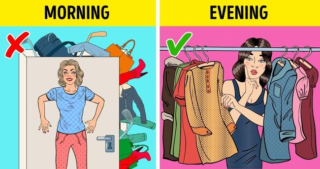Preparing your outfit