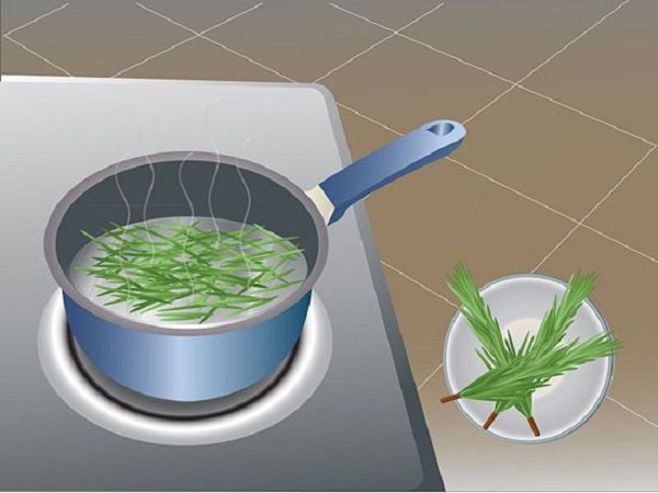 Rosemary dip preparation