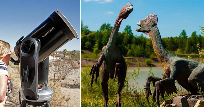 Telescope that can see Dinosaurs