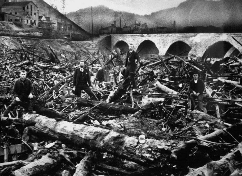 The collapse of South Fork Dam