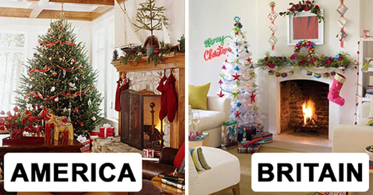 Christmas Celebration In America.15 Differences Between Christmas In The Uk And The America