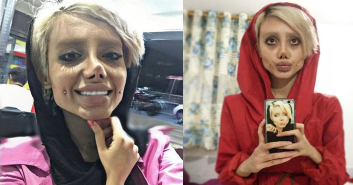 Wannabe Angelina Jolie >> Angelina Jolie Wannabe Admits Her Viral Pictures Were Fake ...