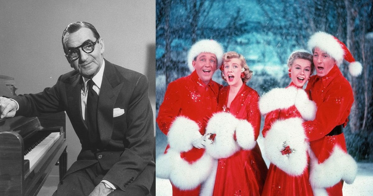 Irving berlin archives for Who wrote the song white christmas