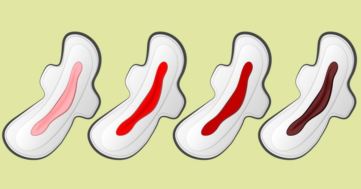 6 Ways What The Color Of Your Period Blood Reveals About Your Health