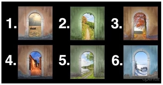 Choose one of these doors to find out what they predict about your future