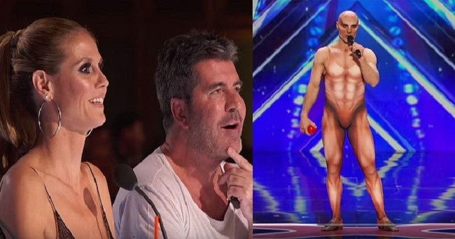 Watch a brilliant and weird performance on America's Got Talent