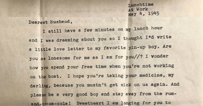 World War Ii Veteran Receives His WifeS Love Letter After  Years