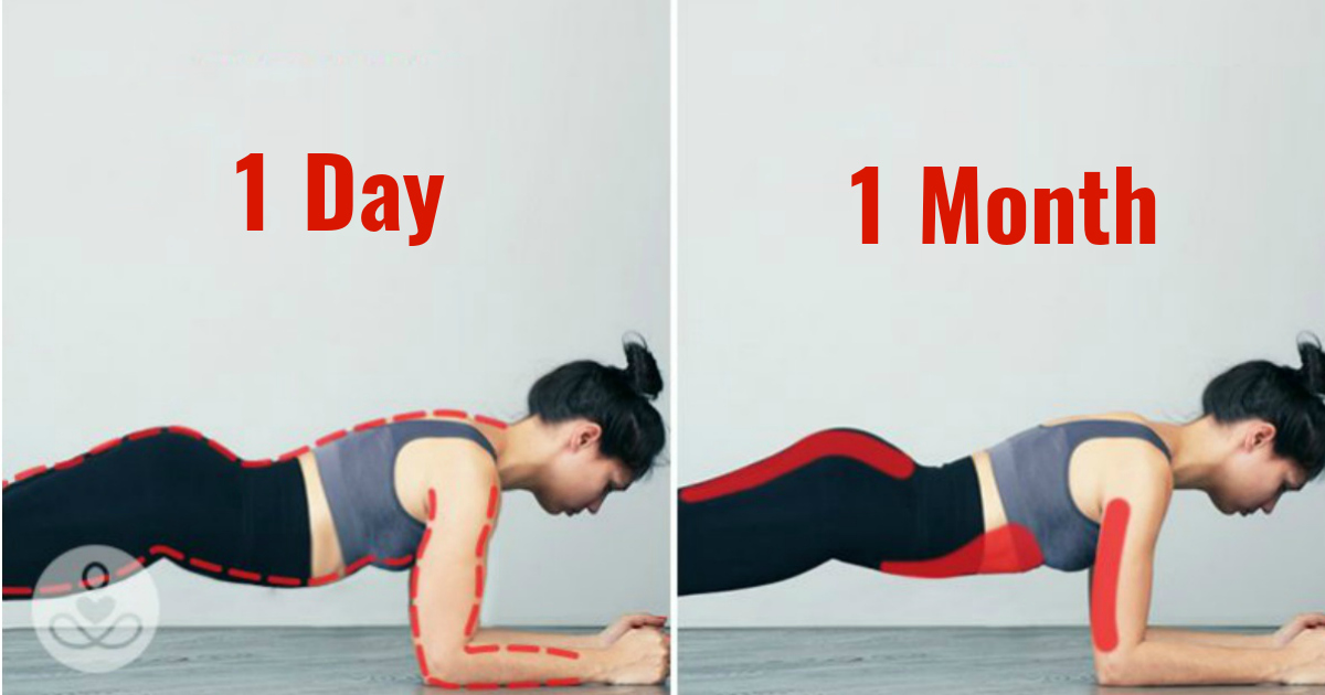 How To Tone Up In A Month: This 21 Day Plank Challenge To Tone And Tighten Up Your